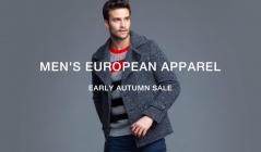 MEN'S EUROPEAN APPAREL AUTUMN SALE(モードフルーレ)のセールをチェック
