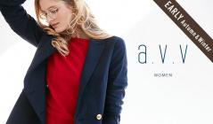 a.v.v Women_EARLY AUTUMN & WINTER(アーヴェヴェ)のセールをチェック
