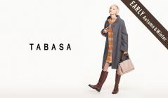TABASA_EARLY AUTUMN & WINTER(タバサ)のセールをチェック