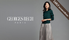 GEORGES RECH_EARLY AUTMUN & WINTER SELECTION(ジョルジュ レッシュ)のセールをチェック