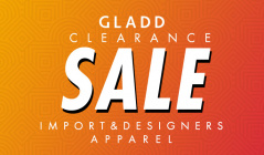 GLADD CLEARANCE IMPORT&DESIGNERS APPARELのセールをチェック