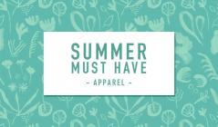 SUMMER MUST HAVE  -APPAREAL-のセールをチェック