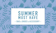 SUMMER MUST HAVE  -BAG & SHOES & ACC-のセールをチェック