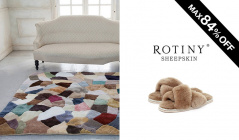 ROTINY SHEEPSKIN -LIVING SELECTION-(ロティニー・シープスキン)のセールをチェック