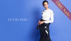 LE CIEL BLEU_FINAL SALE_APPAREL(ルシェルブルー)のセールをチェック