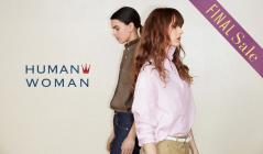 HUMAN WOMAN_FINAL SALE_APPAREL(ヒューマンウーマン)のセールをチェック