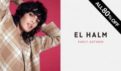 EL HALM_EARLY AUTUMN ALL80%OFF(エルハルム)のセールをチェック
