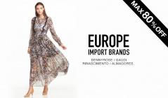 EUROPE IMPORT BRANDSのセールをチェック