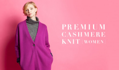 PREMIUM CASHMERE KNIT -WOMEN-のセールをチェック