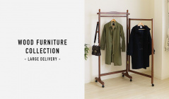 WOOD FURNITURE COLLECTION- LARGE DELIVERY-のセールをチェック