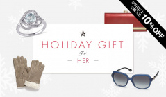 HOLIDAY GIFT FOR HERのセールをチェック