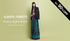 ALBERTA FERRETTI / PHILOSOPHY(アルベルタ フェレッティ)のセールをチェック