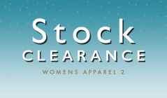 STOCK CLEARANCE WOMENS APPAREL 2のセールをチェック