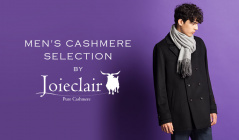 Joieclair-CASHMERE SELECTTION FOR HIMのセールをチェック