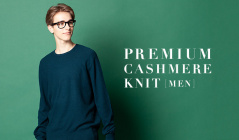 PREMIUM CASHMERE KNIT - MEN -のセールをチェック
