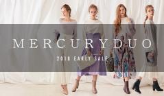 MERCURYDUO -2018 EARLY SALE-(マーキュリーデュオ)のセールをチェック