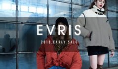 EVRIS -2018 EARLY SALE-のセールをチェック