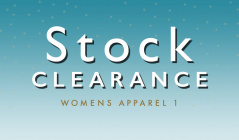 STOCK CLEARANCE WOMENS APPAREL 1のセールをチェック