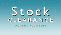 STOCK CLEARANCE WOMENS ACCESSORYのセールをチェック