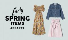 EARLY SPRING ITEM -apparel-のセールをチェック