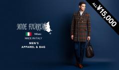 MEN'S MODE FOURRURE APPAREL & BAG ALL¥15,000(モードフルーレ)のセールをチェック