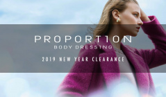 PROPORTION BODY DRESSING -2019 NEW YEAR CLEARANCE-(プロポーションボディドレッシング)のセールをチェック