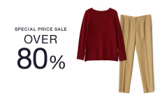 SPECIAL PRICE SALE OVER80%のセールをチェック