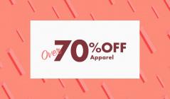 19F_01_1_OVER 70%OFF  apparelのセールをチェック