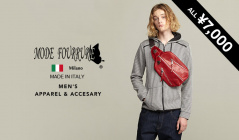 MEN'S MODE FOURRURE APPAREL & BAG  ALL¥7,000(モードフルーレ)のセールをチェック