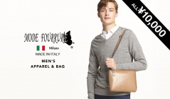 MEN'S MODE FOURRURE APPAREL & BAG  ALL¥10,000(モードフルーレ)のセールをチェック