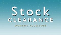 STOCK CLEARANCE WOMENS ACCESSORYのセールをチェック