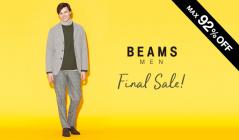 BEAMS MEN -FINAL SALE-(ビームス)のセールをチェック