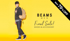 BEAMS MEN SHOES&ACCESSORY FINAL SALE(ビームス)のセールをチェック