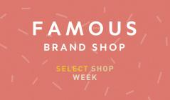 Famous Brand Shopのセールをチェック