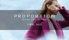 PROPORTION BODY DRESSING -FINAL SALE-(プロポーションボディドレッシング)のセールをチェック