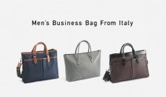 Men's Business Bag From Italyのセールをチェック