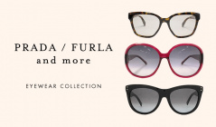 PRADA&FURLA and more EYEWEAR COLLECTIONのセールをチェック