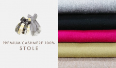 CASHMERE & WOOL STOLE -FINAL SALE-のセールをチェック