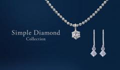 プラチナジュエリー-Simple Diamond Collection-のセールをチェック