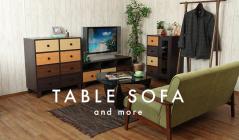 TABLE SOFA &moreのセールをチェック