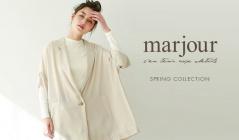 MARJOUR -SPRING COLLECTION-(マージュール)のセールをチェック