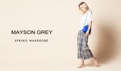 MAYSON GREY -SPRING WARDROBE-(メイソングレイ)のセールをチェック