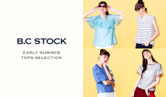 EARLY SUMMER TOPS SELECTION by B.C STOCK(ベーセーストック)のセールをチェック