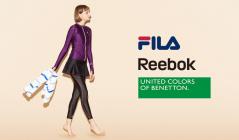 FILA/REEBOK/BENETTON FITNESS SWIMWEARのセールをチェック