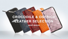 CROCODILE & OSTRICH LEATHER SELECTION and moreのセールをチェック
