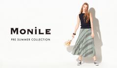MONILE -PRE SUMMER COLLECTION-(モニーレ)のセールをチェック