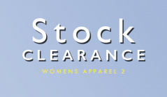 STOCK CLEARANCE WOMENS APPAREL2のセールをチェック