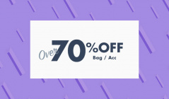 OVER 70%OFF  bag & accのセールをチェック