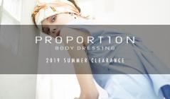 PROPORTION BODY DRESSING -2019 SUMMER CLEARANCE-(プロポーションボディドレッシング)のセールをチェック