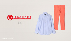 TAKASHIMAYA MENのセールをチェック